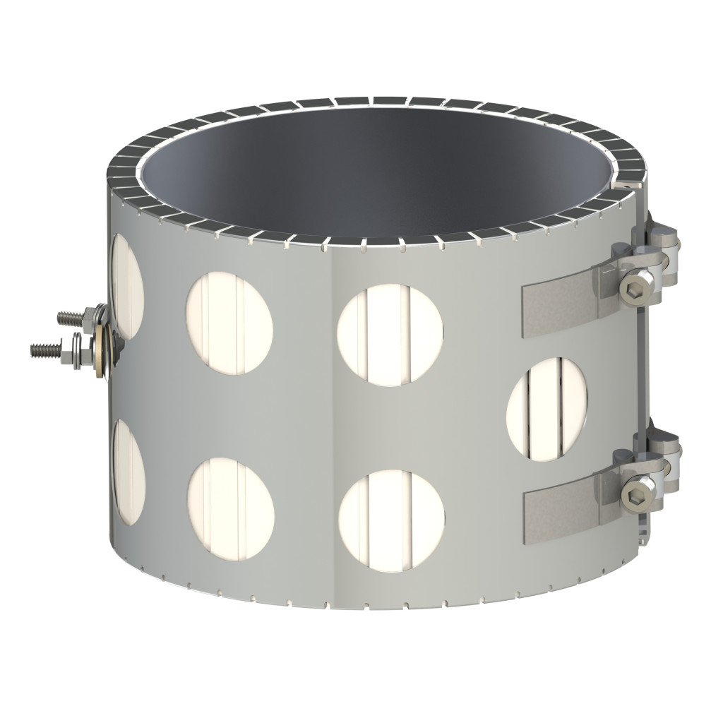 Ceramic Band Heater - Holes Style