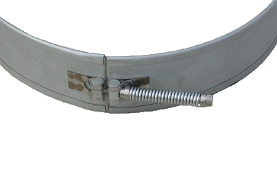 Mica Band Heater with spring loaded strap