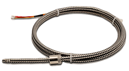 Adjustable Depth Thermocouples With Stainless Steel Armor