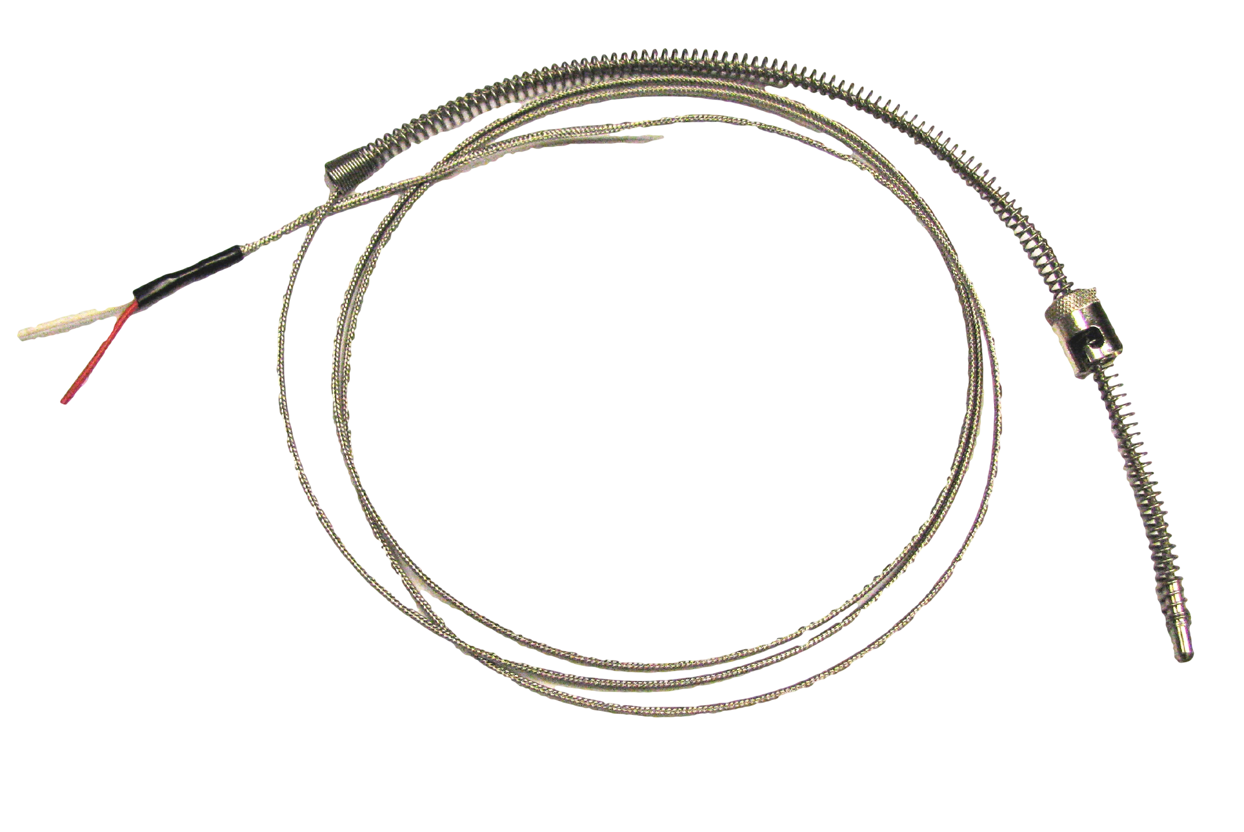 Adjustable Depth Thermocouples With Stainless Steel Overbraid